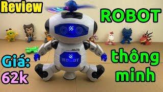 Trên tay ROBOT biết nhảy và hát, đèn như vũ trường CỰC CHẤT