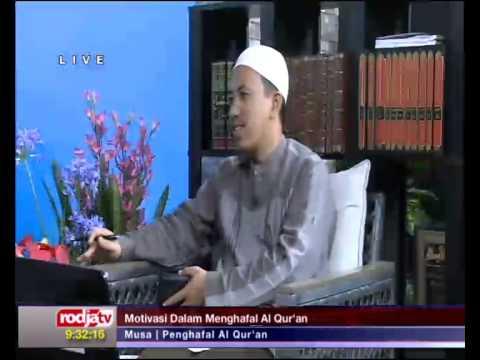 Musa bin Hanafi hafidz quran 29 juz di radio RODJA