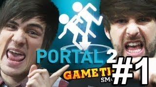 JUMPING THROUGH PORTALS (Gametime with Smosh)