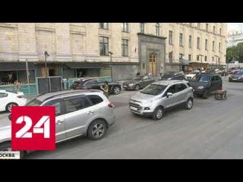 Скандал в Тушине: водитель в погонах решился на настоящий таран