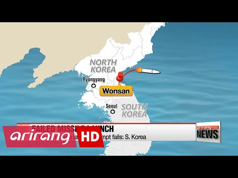 North Korea launches fourth Musudan missile, ending in failure
