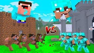Minecraft - NOOB vs PRO - Medieval Castle in Minecraft!