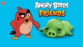 Angry Birds Friends - Warm-Up Three Star Gameplay Round 3/3 Target Score 400 000