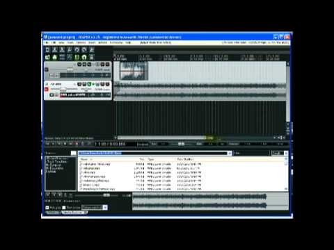 Reaper Audio Recording Demo