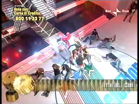 Telethon 2006 - RAI tv show Italy - Spiderman - choreographer Alberta Allegrezza