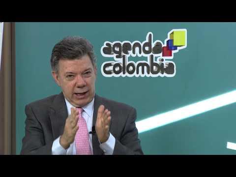 Entrevista al Presidente Juan Manuel Santos, en Agenda Colombia - 1° de diciembre de 2014