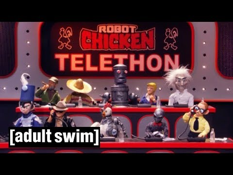 Robot Chicken Telethon | Robot Chicken | Adult Swim
