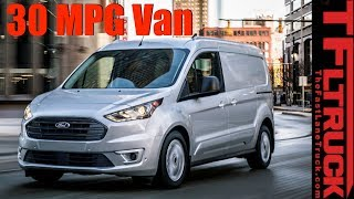 2019 Ford Transit Connect Cargo Van: Everything You Want to Know