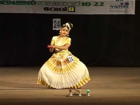 Kerala School Kalolsavam 2012 Mohiniyattam Performed By Lavanya video