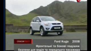 crash test Ford Kuga and Citroen Berlingo