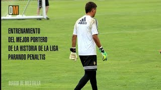 Diego Alves: especialista en penaltis
