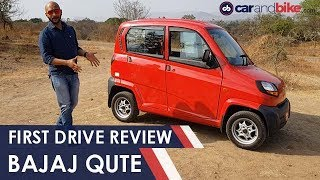 2019 Bajaj Qute First Drive Review | NDTV  carandbike