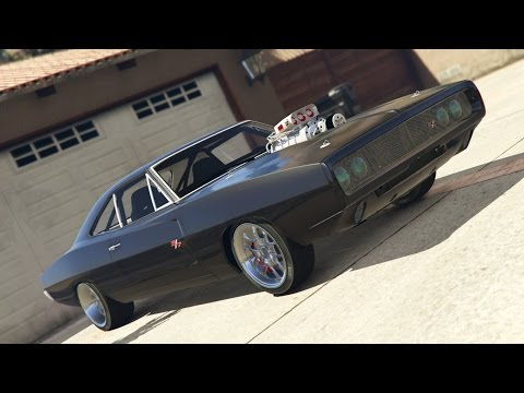 GTA V Fast and Furious 1970 Dodge Charger Crash Test Compilation