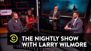 The Nightly Show - Panel - Deflategate Aftermath & Offensive Cavaliers Video