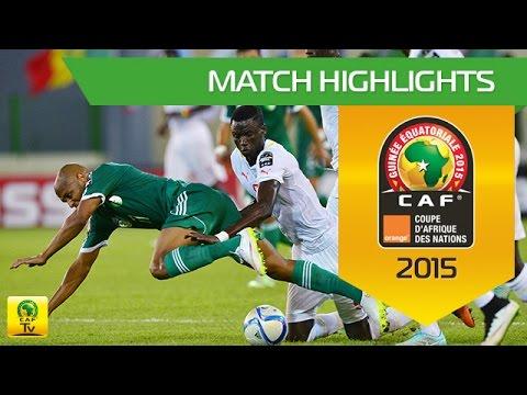 Senegal - Algeria   CAN Orange 2015   27.01.2015