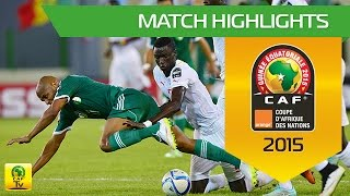 Can 2015 | Poule C - Senegal 0-2 Algerie