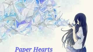 Nightcore ~ Paper Hearts (Jungkook cover)