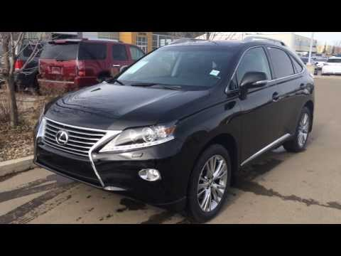 2014 Lexus RX 350 AWD - Technology Package Review Edmonton