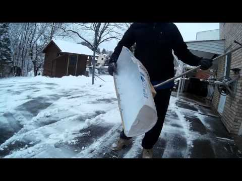 DIY Snow Shovel