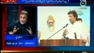 Jamaat e Islami & PTI Alliance - Analysis In Bolta Pakistan - 28 June 2012