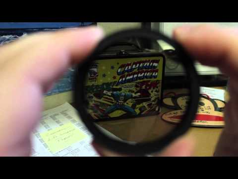 Fotga ND Fader DSLR Filter Review - $11 Super Cheap!  Frugal FilmMaker MrCheesyCam