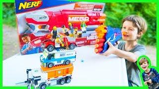 Lego City Vs. Nerf Gun