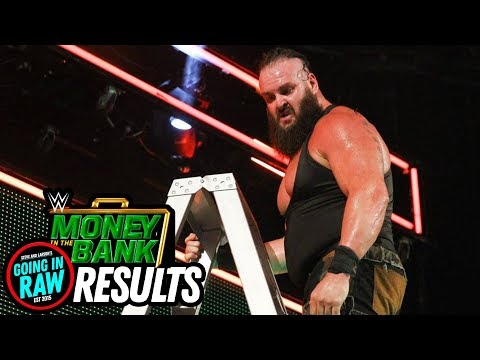 WWE MONEY IN THE BANK 2018 REVIEW & RESULTS! (Going In Raw Pro Wrestling Podcast) thumbnail