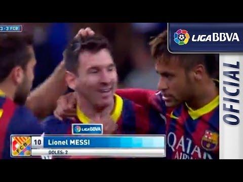 Gol I Goal de penalti de Messi y roja I red card a Sergio Ramos (3-3) - EL CLÁSICO - HD