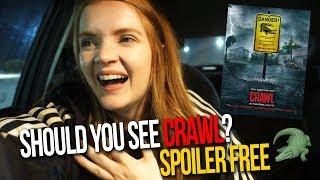 Crawl (2019) Come With Me Horror Review | Alligator Horror Movie w/ Kaya Scodelario