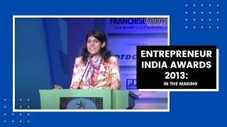 Entrepreneur India Awards 2013  In The