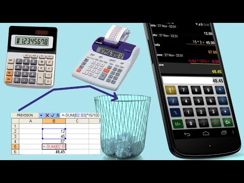 Accounting calc / spreadsheet Business app for Android Preview 1