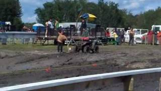 2009 St Laurent ATV Mud Bog video (Metis Days)