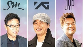 Download Lagu SM Entertainment VS YG Entertainment VS JYP Entertainment Gratis STAFABAND