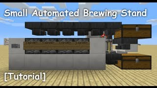 Small Automated Brewing Stand [Tutorial]