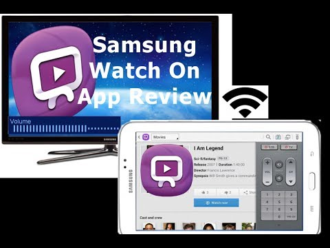 Samsung WatchON App for Samsung Galaxy Tab Series 3 7.0