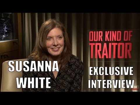 Susanna White Exclusive Interview My Kind Of Traitor (HD)