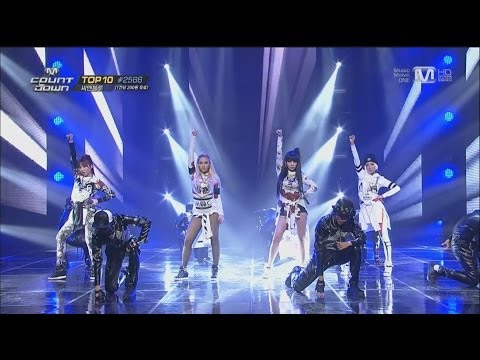 2ne1-'come Back Home' 0320 M Countdown: No.1 Of The Week video
