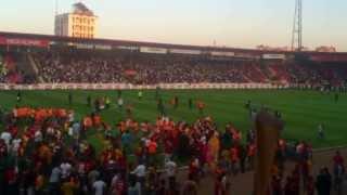 Gaziantepspor - Galatasaray maçı öncesi olaylar