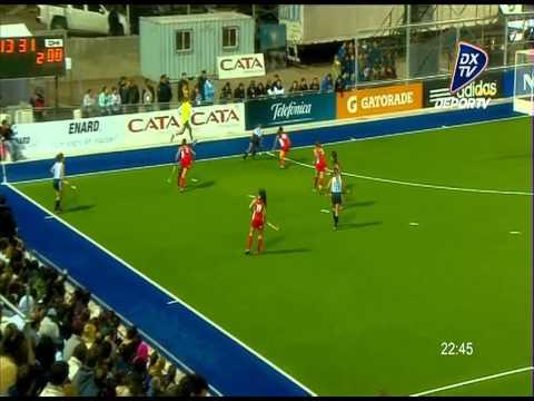 Goles de Las Leonas 26 09 2013: Argentina 5 Chile 0