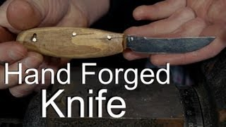 How to Make a Knife with a Soup Can Forge