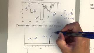 Organic Chemistry II - Solving a Structure Based on IR and NMR Spectra