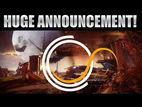 Huge Announcement - Destiny 2 Beta, Destiny Streams, Destiny 2 Projects, Rebrand & More