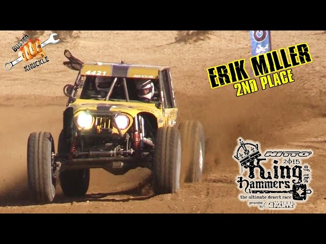 ERIK MILLER TAKES 2ND 2015 KING OF THE HAMMERS