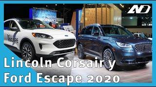 Ford Escape 2020 y Lincoln Corsair - Es lo mismo pero no es igual - #NAIAS2019