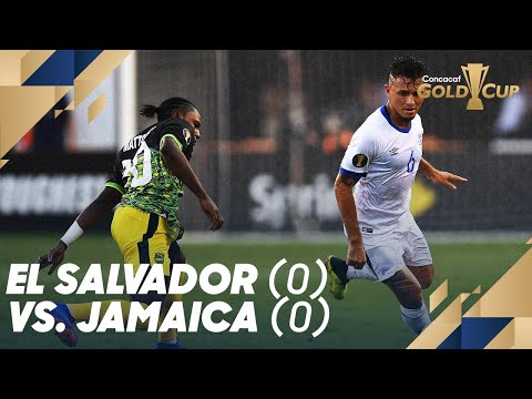 El Salvador (0) vs. Jamaica (0) - Gold Cup 2019