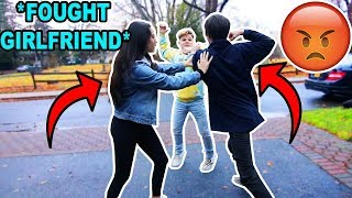 My Girlfriend Confronted My School BuIIy! *bad idea*