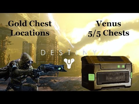 Destiny venus gold chest locations hey gamers find 5 gold chests venus