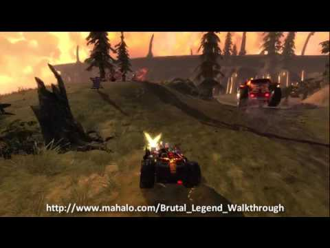 Brutal Legend Walkthrough - Mission 7: Tour of Destruction