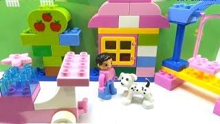 ChiChi ToysReview TV - Trò Chơi búp bê ĐỒ CHƠI BÉ GÁI Lắp ghép lego VIDEO CHO BÉ