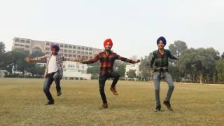 Bhangra on Laembadgini song of diljit by d.a.v clg boys(keep watching nd subscribing)